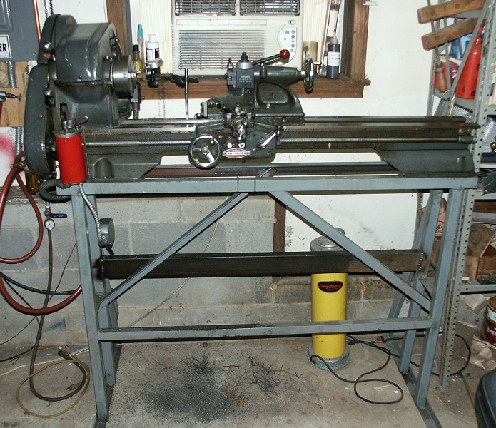 portable lathe stand 3