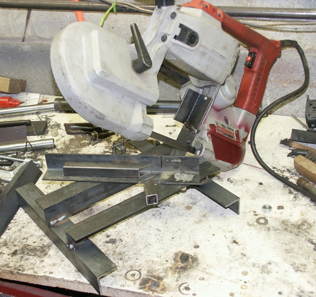 Portable Band Saw Stand