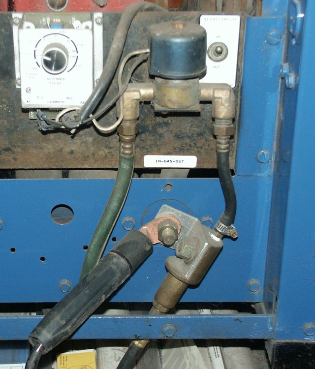 Miller Dialarc 310 Tig Torch