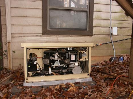 Diy generator house hookup