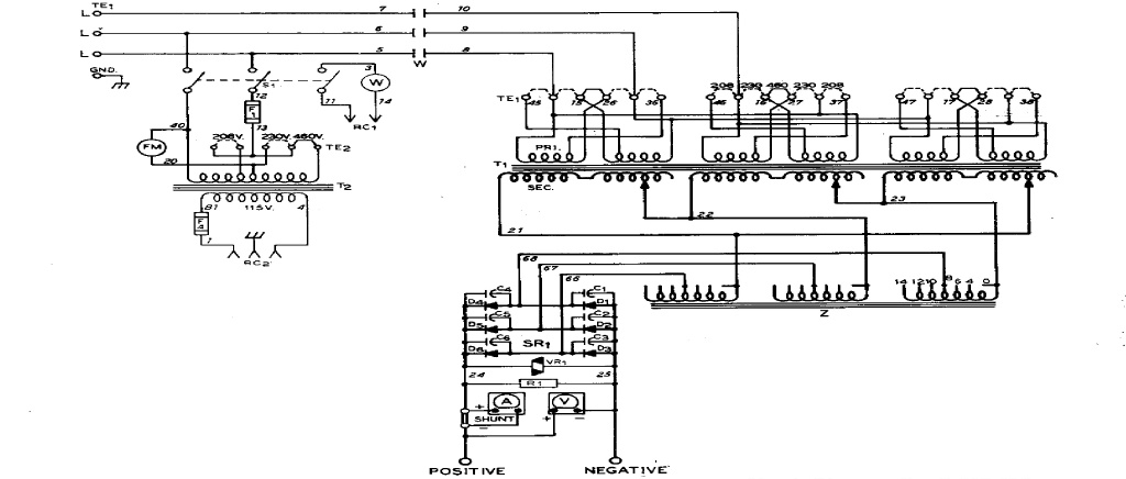 schematic how to modify the cp 250ts for single phase and short arc welding arc wiring diagram at edmiracle.co