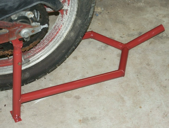 Jack Stand Designs : Motorcycle stand